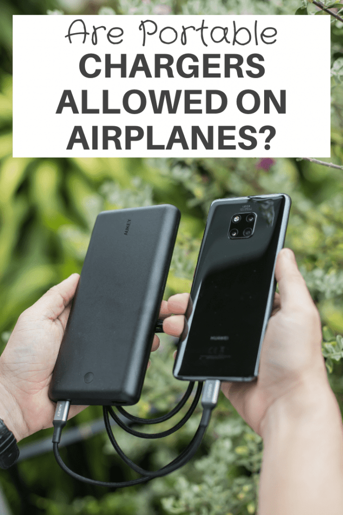Are Portable Chargers Allowed On Airplanes